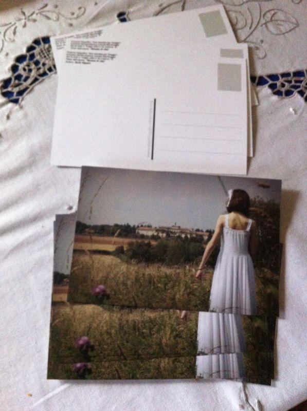 Le cartoline che verranno spedite